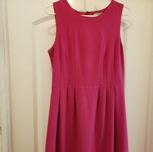 H&M fuschia dress